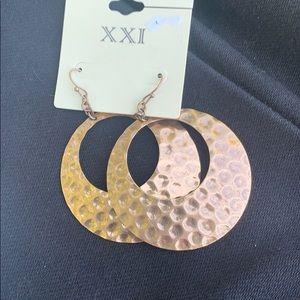 Chrome earrings